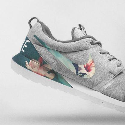 Obrazek Nike Floral Roshe Customized Running Shoes