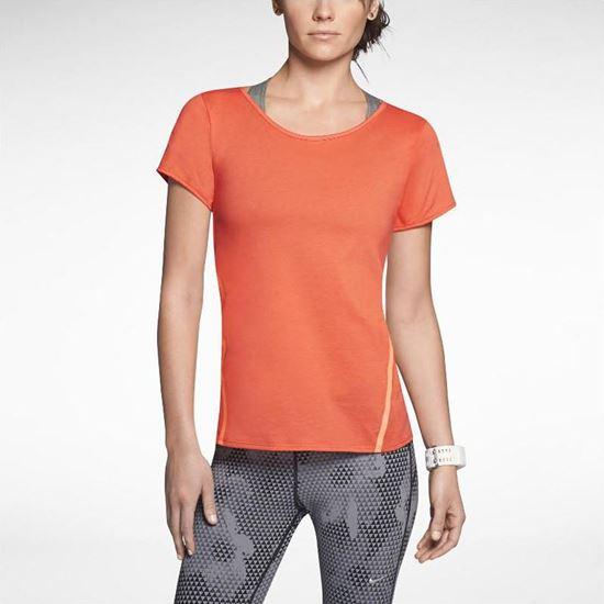 Obrazek Nike Tailwind Loose Short-Sleeve Running Shirt