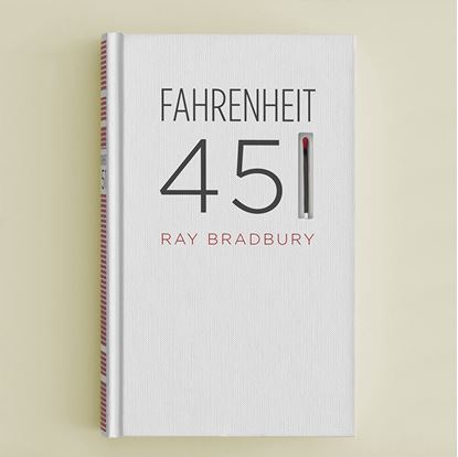 Obrazek Fahrenheit 451 by Ray Bradbury